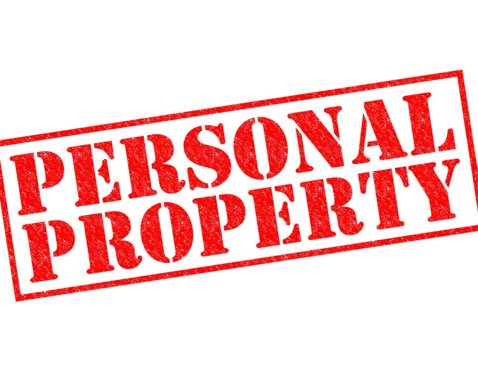 personal property and home content claims